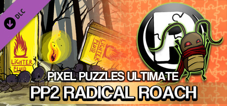 Pixel Puzzles Ultimate - Puzzle Pack: PP2 RADical ROACH