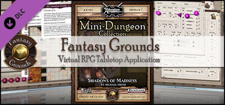 Fantasy Grounds - Mini-Dungeon #017: Shadows of Madness (PFRPG)