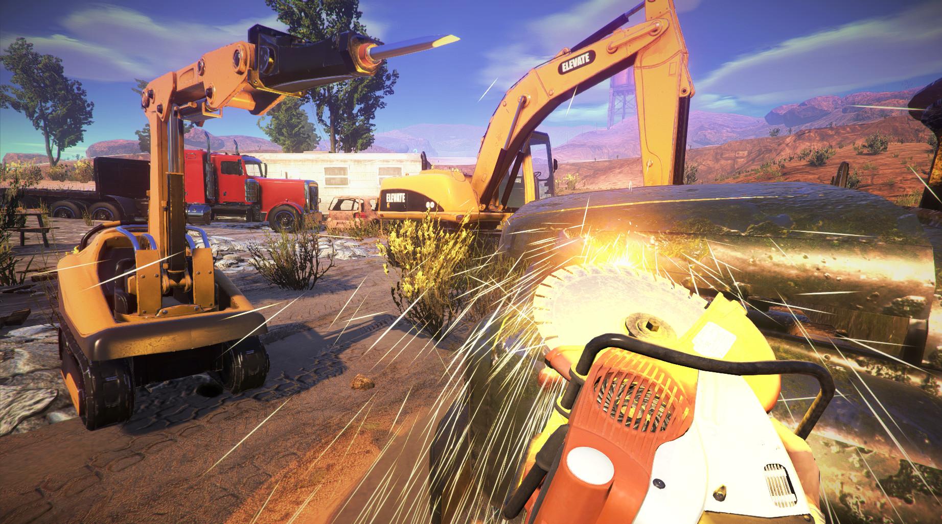 construction destruction completo
