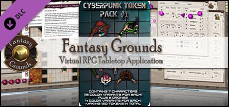 Fantasy Grounds - Cyberpunk 1 (Token Pack)