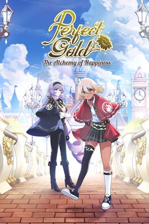 Perfect Gold - Yuri Visual Novel poster image on Steam Backlog