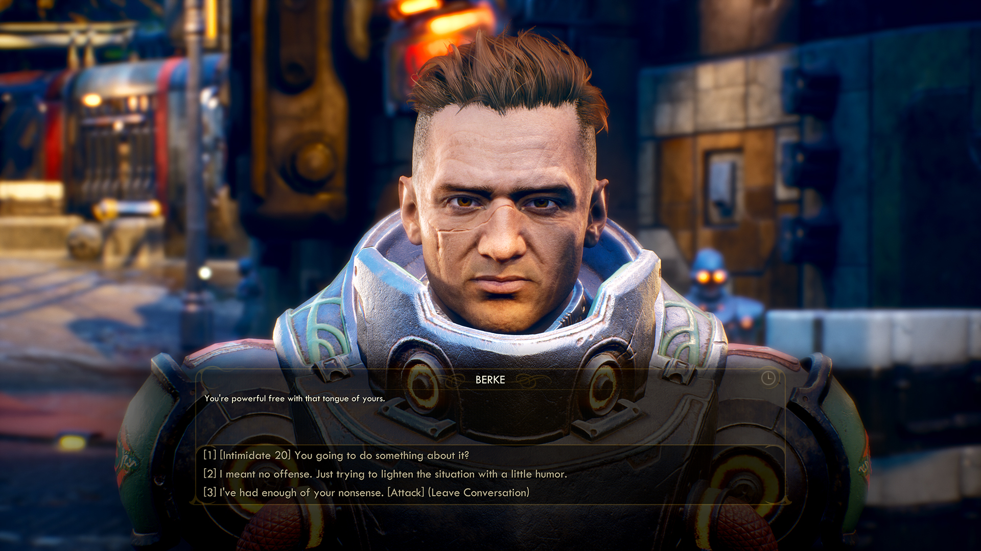 Image result for the outer worlds screenshot