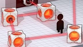Portal 2 E3 Demo (Thermal Discouragement Beams)