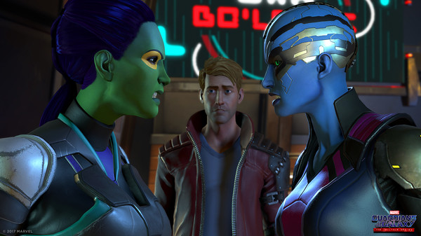 скриншот Marvel's Guardians of the Galaxy: The Telltale Series 5