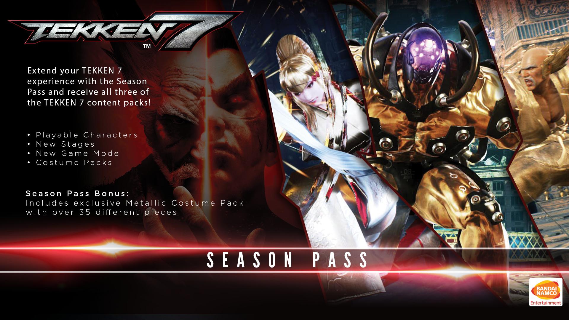 Tekken 7 Season Pass On Steam