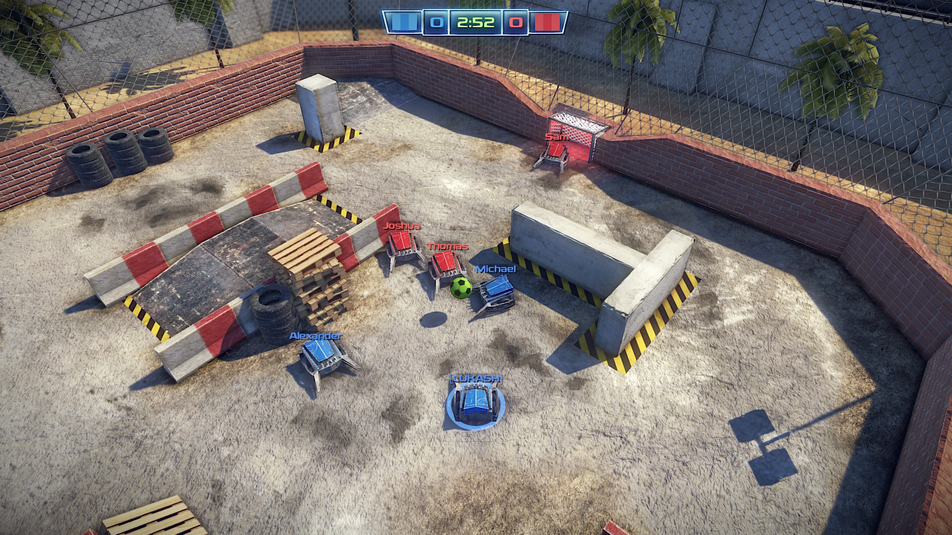 Robot Soccer Challenge on Steam