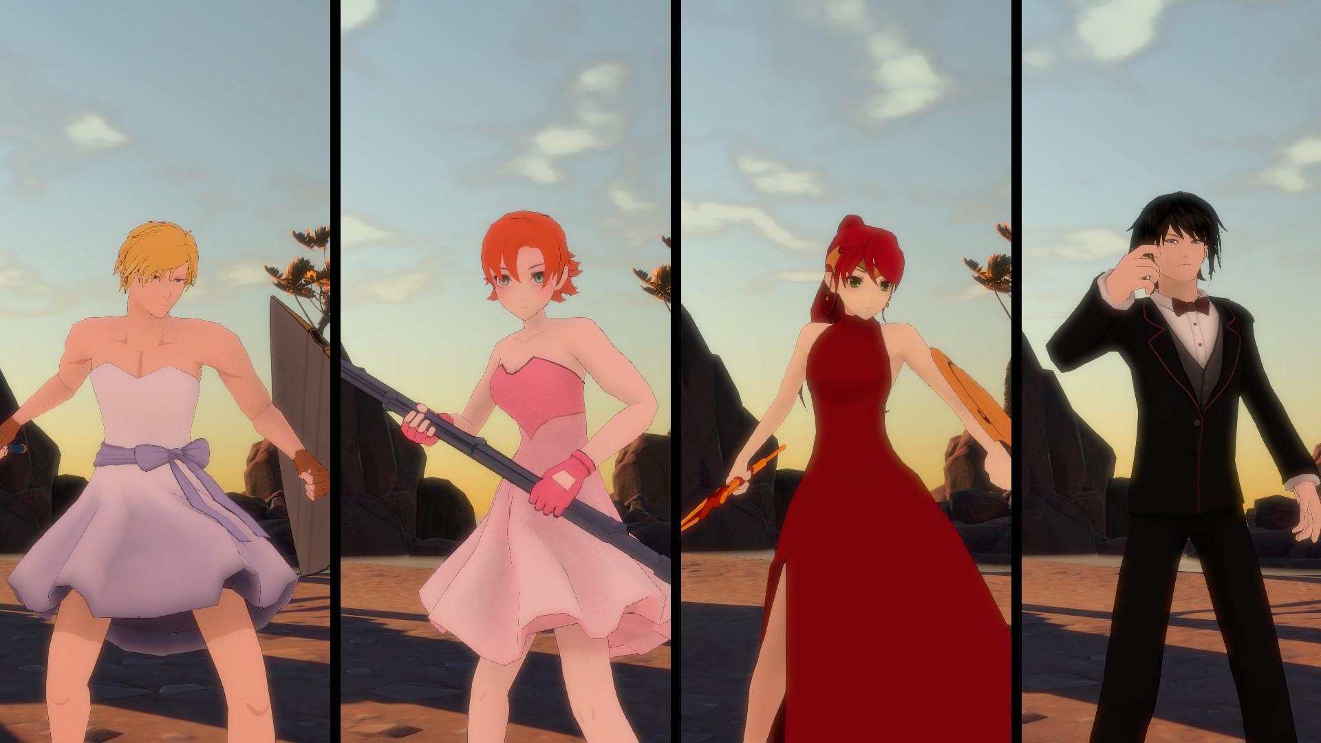RWBY  Grimm Eclipse - Team JNPR Beacon Dance Costume Pack on Steam 058296d03