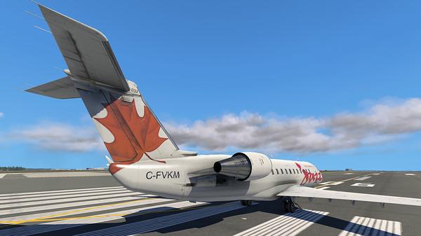 X-Plane 11 - Add-on: Aerosoft - CRJ 200 - Wong's Store - Cửa hàng