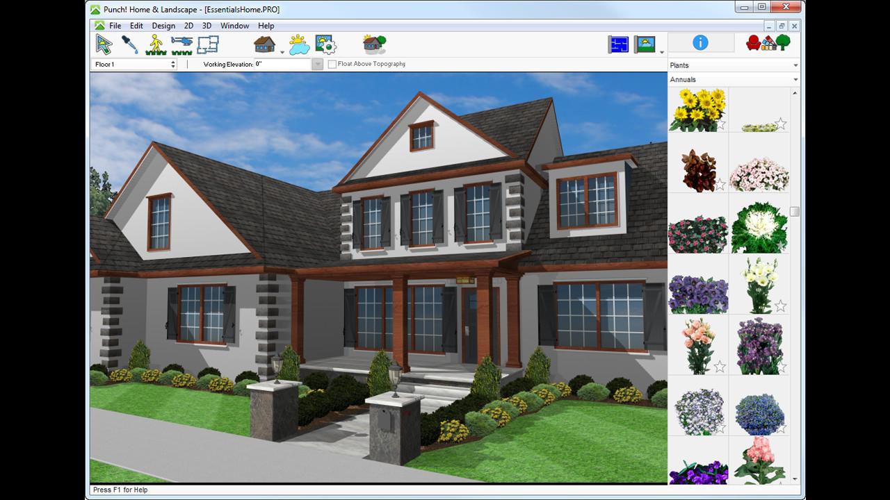 Punch! Home & Landscape Design Essentials v19 on Steam on punch software for mac, interior design studio, small home design studio,