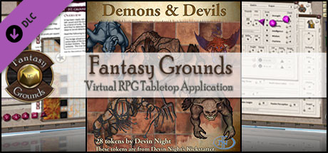Fantasy Grounds - Demons and Devils (Token Pack)