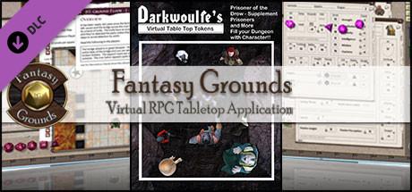 Fantasy Grounds - Darkwoulfe's: Prisoner of the Drow Supplement (Token Pack)
