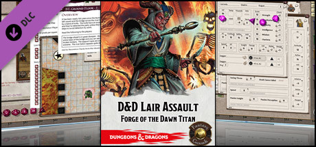 Fantasy Grounds - D&D Lair Assault: Forge of the Dawn Titan
