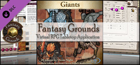 Fantasy Grounds - Giants (Token Pack)