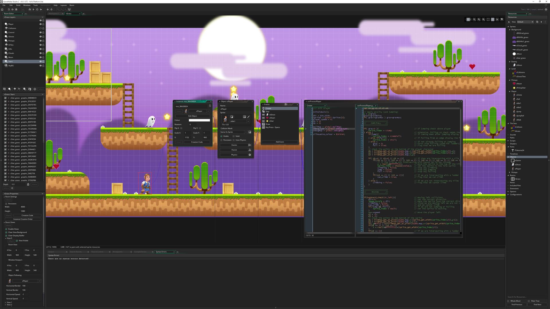 GameMaker Studio 2 Web