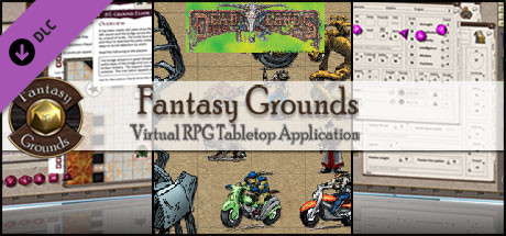 Fantasy Grounds - Hell on Earth Reloaded Figure Flats - Starter (Token Pack)