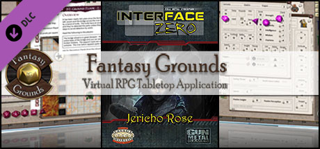 Fantasy Grounds - Interface Zero: Jericho Rose (Savage Worlds)