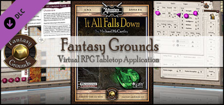 Fantasy Grounds - B03: It All Falls Down (PFRPG)