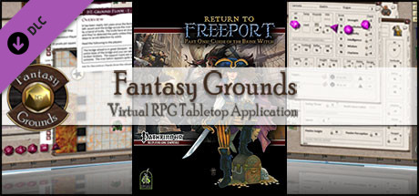 Fantasy Grounds - Return to Freeport, Part One: Curse of the Brine Witch (PFRPG)