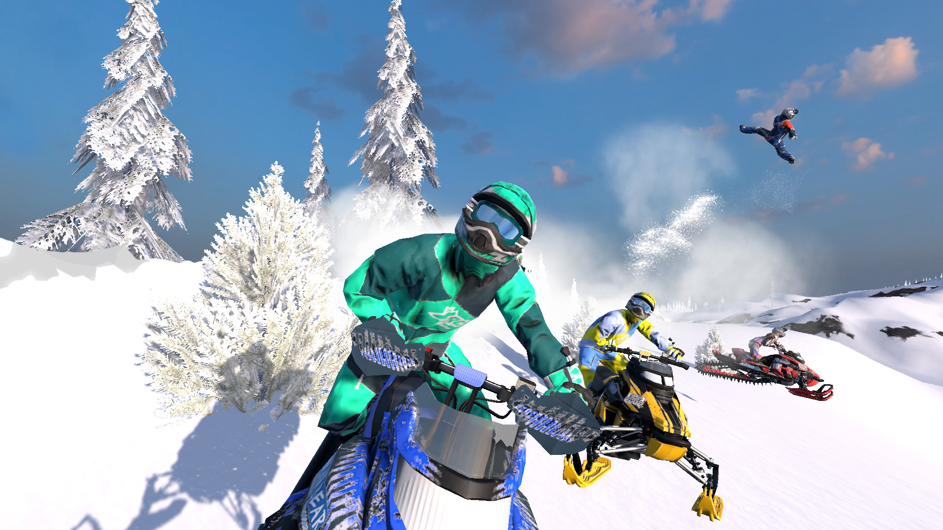 Snow Moto Racing Freedom Screenshot 1