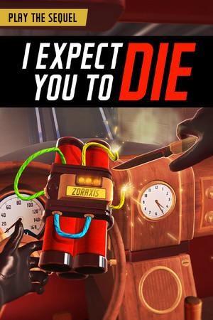 I Expect You To Die poster image on Steam Backlog