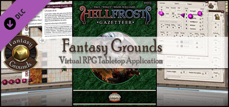 Fantasy Grounds - Hellfrost Gazetteer (Savage Worlds)