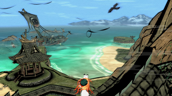 download Okami HD + CrackFix cracked by codex include all dlc and latest update mirrorace multiup