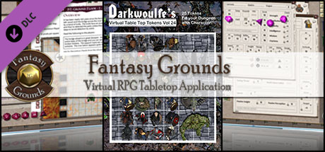 Fantasy Grounds - Darkwoulfe's Volume 24 - Beast of the Bogs (Token Pack)