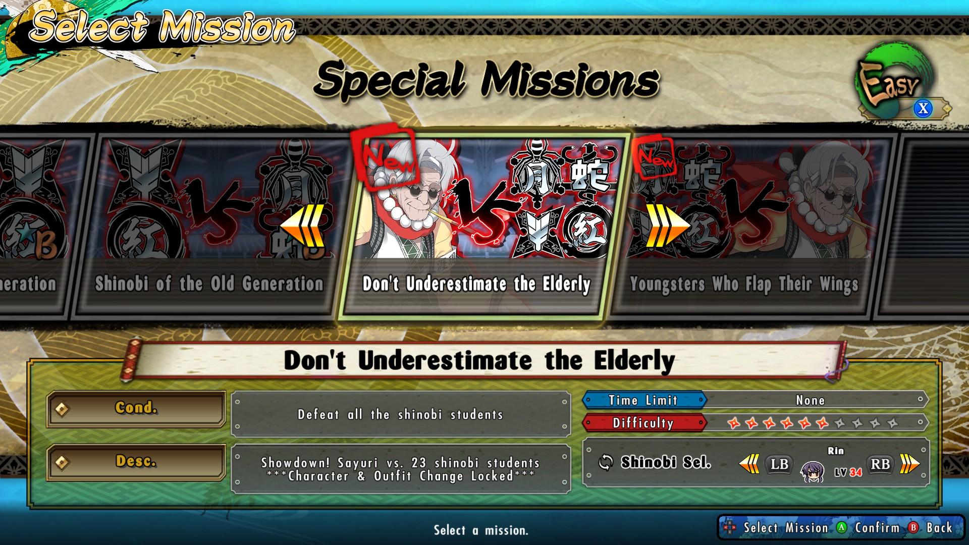 Senran Kagura: Estival Versus - Mission Pack 2017 pc game Img-1