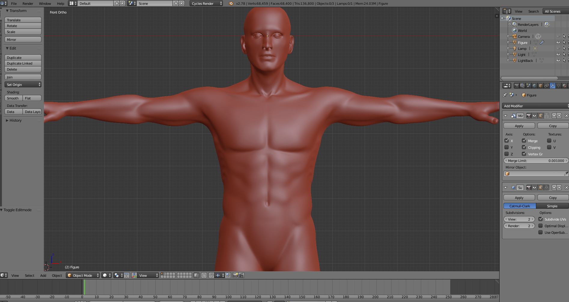 Blender Character Modeling For