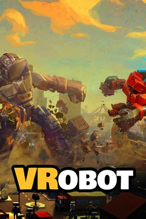 VRobot: VR Giant Robot Destruction Simulator poster image on Steam Backlog