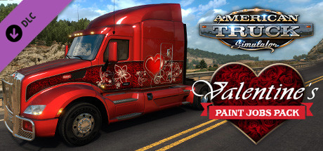 American Truck Simulator - Valentines Paint Jobs Pack