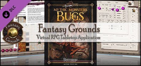 Fantasy Grounds - Mythic Monsters #26: Bugs (PFRPG)