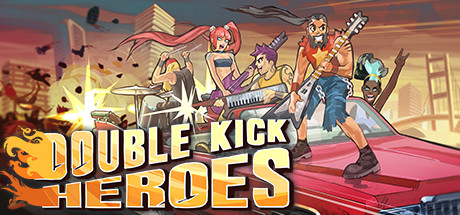 Double Kick Heroes Banner