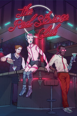 The Red Strings Club poster image on Steam Backlog