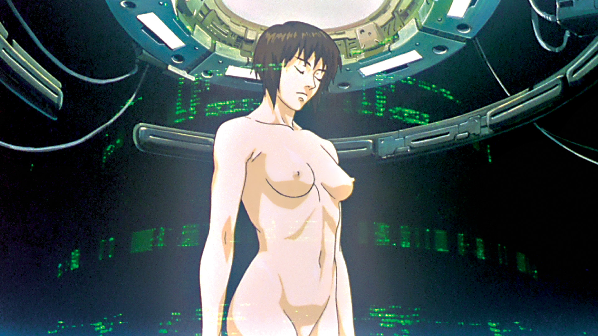 Ghost in the shell anime nude