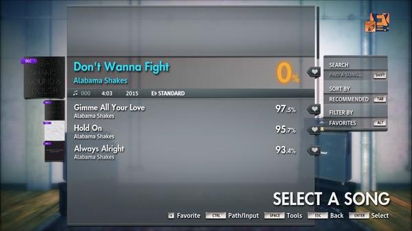 "Скриншот №4 к Rocksmith® 2014 Edition – Remastered – Alabama Shakes - ""Dont Wanna Fight"""