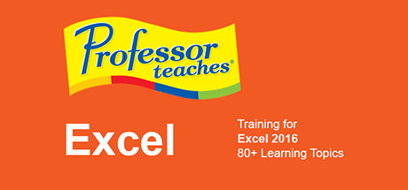 Professor Teaches® Excel 2016 – Mac