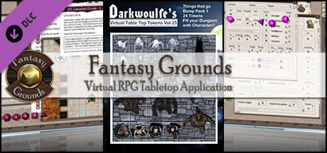 Fantasy Grounds - Darkwoulfe's Volume 25 - Things that go Bump Pack 1 (Token Pack)