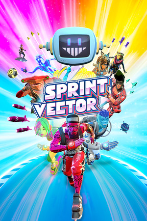 Sprint Vector poster image on Steam Backlog