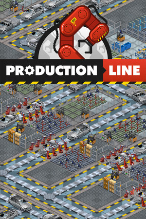 Production Line : Car factory simulation poster image on Steam Backlog