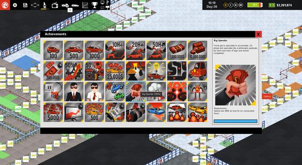 Скриншот №7 к Production Line  Car factory simulation