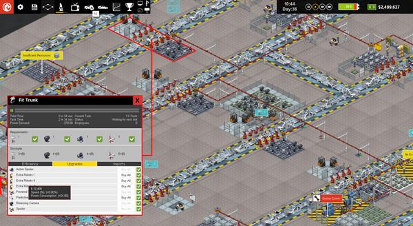 Скриншот №8 к Production Line  Car factory simulation