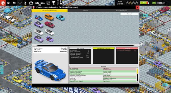 Скриншот №5 к Production Line  Car factory simulation