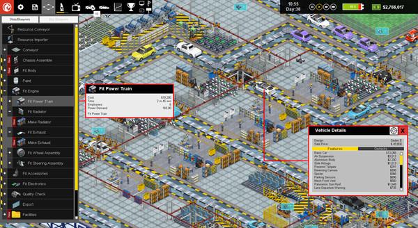Скриншот №1 к Production Line  Car factory simulation