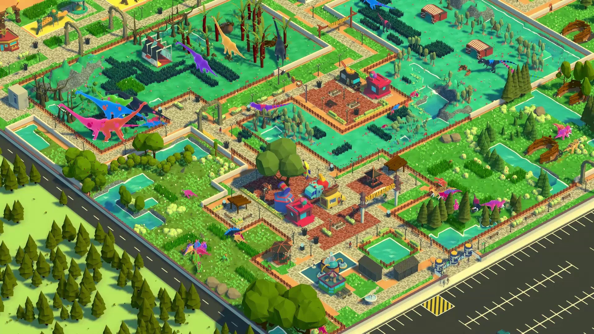 Parkasaurus [Early Access] [2018|Rus|Eng|Multi7]