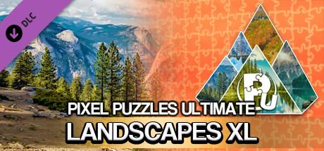 Pixel Puzzles Ultimate - Puzzle Pack: Landscapes XL