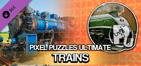 Jigsaw Puzzle Pack - Pixel Puzzles Ultimate: Trains