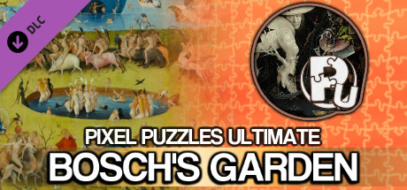 Jigsaw Puzzle Pack - Pixel Puzzles Ultimate: Bosch's Garden