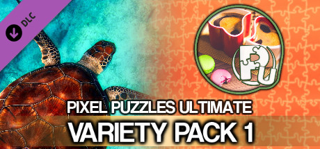 Jigsaw Puzzle Pack - Pixel Puzzles Ultimate: Variety Pack 1