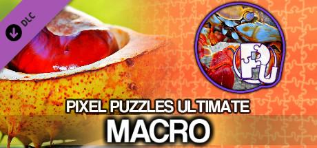 Pixel Puzzles Ultimate - Puzzle Pack: Macro